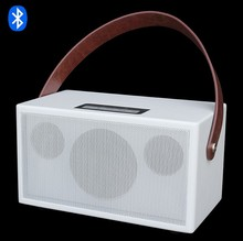 Novelty Top Sound Quality Wireless Wooden Smart Bluetooth Speaker With 35W Power Amplifier