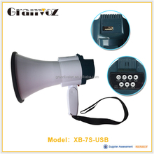 25W USB MP3 Megaphone With rechargeable battery
