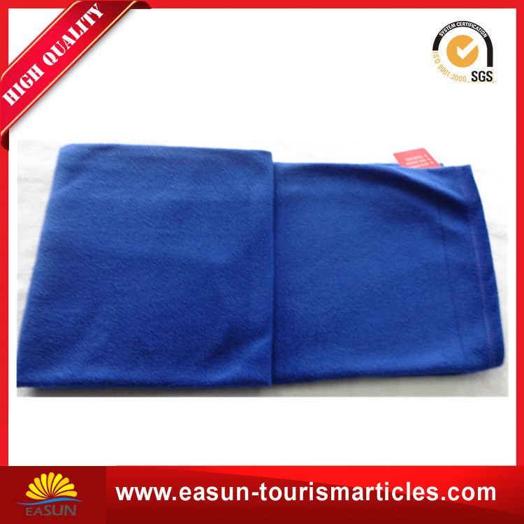 promotional 100 polyester polar fleece mink sherpa throw blanket customized design