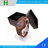 2016 Fashion Wrist Watch Man Custom Logo Wood Watch