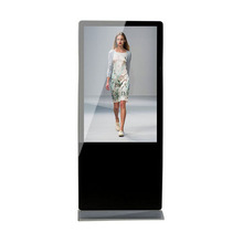 55 Inch Stand Alone LED Advertising Digital Signage Video and picture Display With Touch Screen