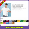 MS-1765 High Quality Men Basic Short Sleeve Blank Cotton T Shirt Bulk Wholesale