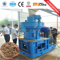 Automatic beautiful white wood burning stove pellet making machine