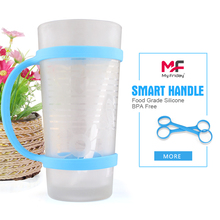 Food grade silicone sports water bottle band