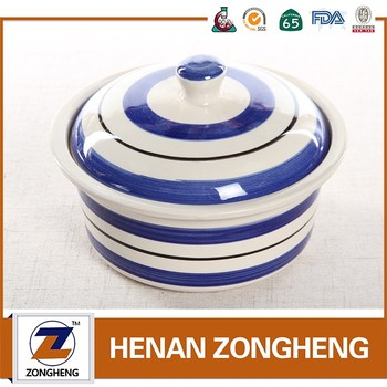 3pcs set beautiful healthy stoneware food container tableware from china