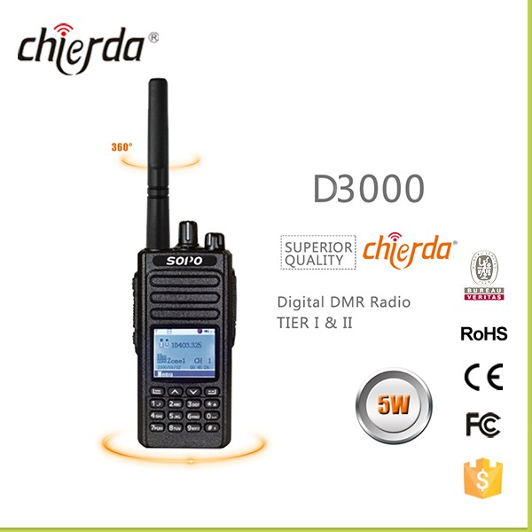 Chierda D3000 DMR Digital Radio