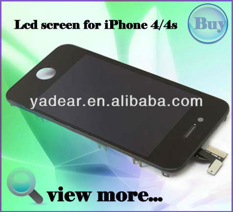 China alibaba wholesale high quality and cheap price tempered glass screen protector for iphone4 4s