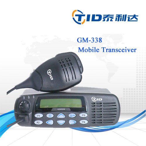 mobile transceiver two way radio 25/45w for MOTOROLA GM 338 VHF/ UHF
