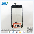 Mobile Phone Touch Screen Digitizer Glass Panel For Fly IQ446
