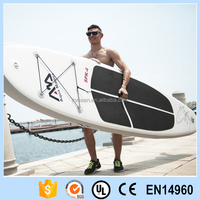 inflatable durable Sea water kayak white canoe outdoor surfboard