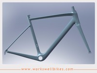 Endurance road geometry, with full monocoque design carbon road bicycle frame china bicycle frames 49/52/54/56/58