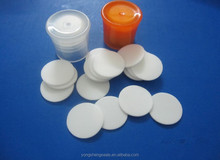 PE Foam Seal Liner & Wad & Insert for Medical Bottle Cap, biggest Chinese PE foam Factory