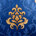 latest wallpaper classic designs with large scale elegant damask pattern