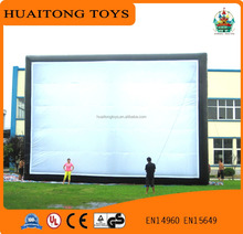 customized large inflatable movie screen PVC durable inflatable screen for sale