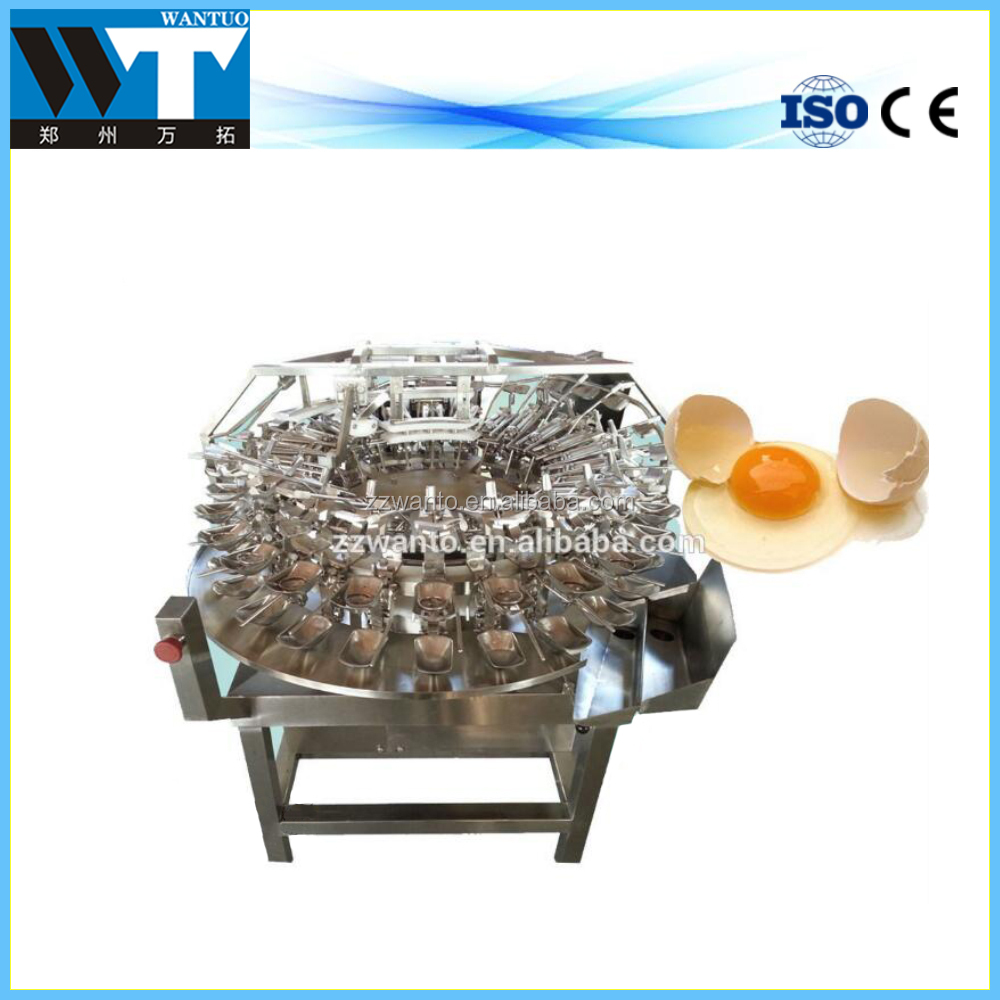Stainless Steel 1000pcs/h Chicken Duck Egg Breaking Separating Machine for Getting Liquid Egg White and Egg Yolk