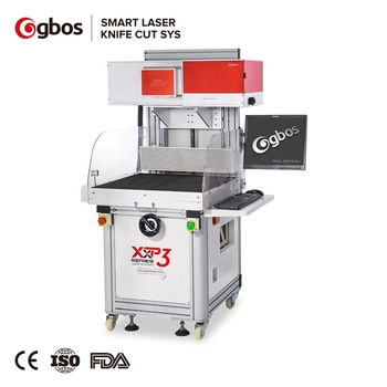 GBOS 180W Galvo Laser Engraving Machine for  Leather Pvc paper Fabric Wood Cnc Cutting Engraving Perforating