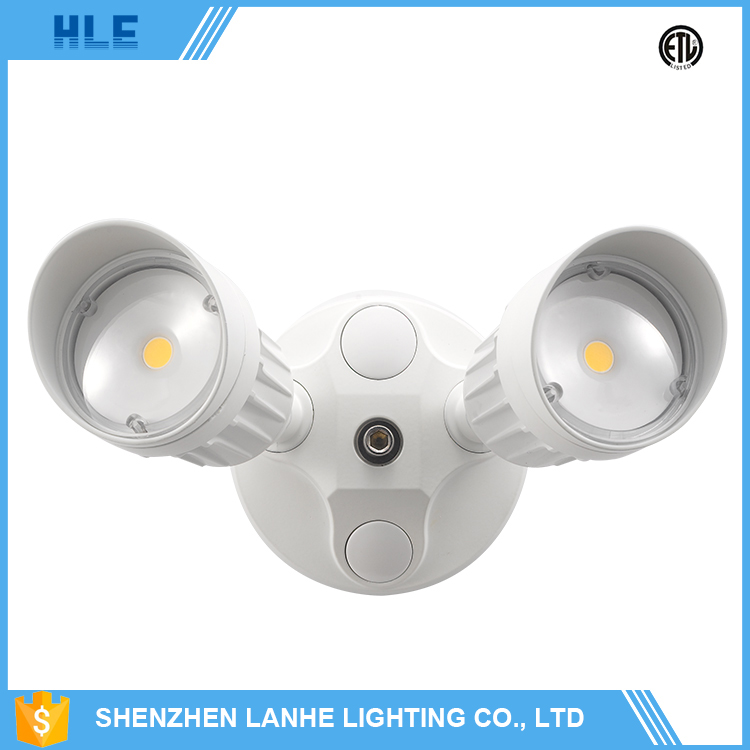 China manufacturer pure white 20w outdoor led security light with motion sensor