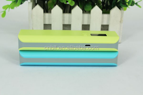 New Fashion power bank manufacturer with led charge indicator for cell phone power bank 5000 mah