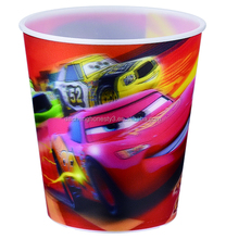 Hot selling 3d lenticular 9OZ plastic drinking kids cup