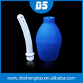 Medical Non-toxic silicone Porous Anal Enema Douche Colon Cleaning Cleaner Sex Toys