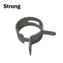 competitive zinc-plated spring hose cheap wholesale clamp anodization hose clip