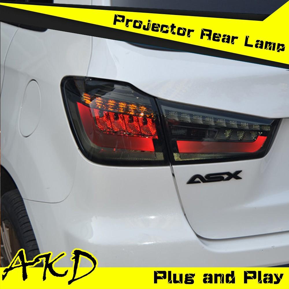 akd car styling mitsubishi asx led r cklicht 2012 asx. Black Bedroom Furniture Sets. Home Design Ideas