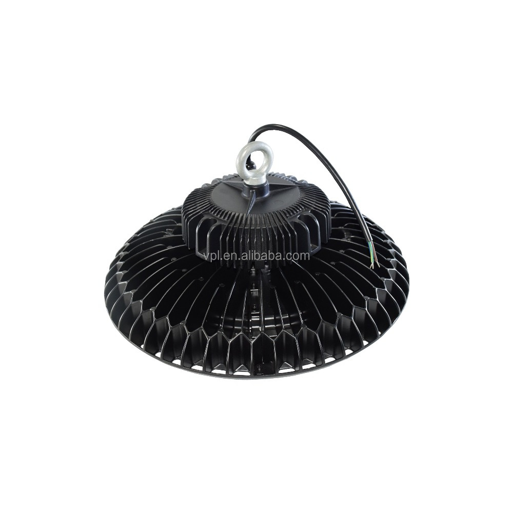 USA market ufo led high bay light 150lm/w high brightness for warehouse/parking lot/square