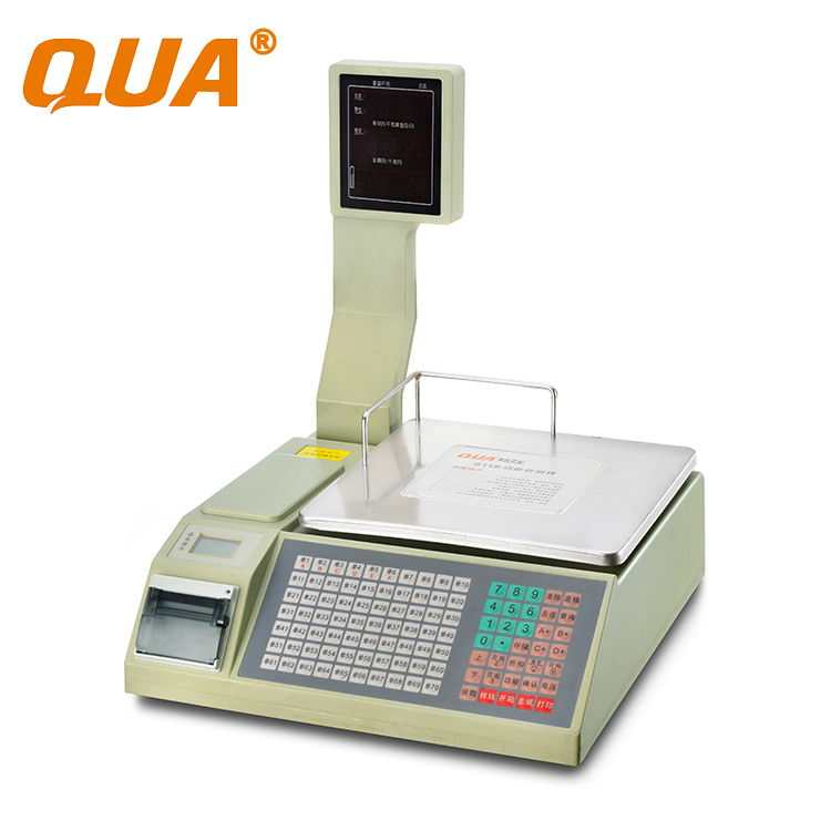 QUA 30kg weighing price printing <strong>scale</strong>
