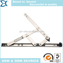 Stainless steel friction Stays Arms, Casement friction hinge, top hung window hinge for Window
