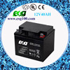 SMF lead acid battery 12V40AH Deep cycle battery for solar panel