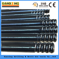 tapered hexagonal hollow drill rod/drill pipe
