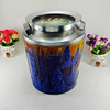 Food safe decorative antique design popular tin can gift container