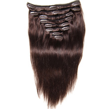 Hot Products Full Head Clip In Hair Extensions Free Sample