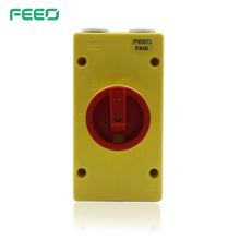 Waterproof IP66 outdoor dual battery electrical types isolator price
