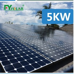wind/snow/hail proof customized 3kw solar panel system