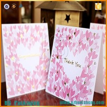 Best Price Greeting Card Making Kit / Greeting Invitation Card For Wholesale