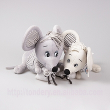stuffed animal soft baby toys plush cute mouse for kids