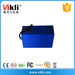 24v prismatic size rechargeable storage Li-Fe battery 25ah