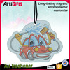 Wholesale absorbent cheap hanging car paper air fresheners