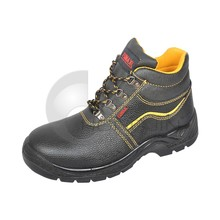Hongjin Buffalo Leather Upper Mining Safety Shoes