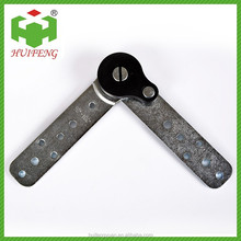 Adjustable metal angle bracket for sofa hinge HF206P