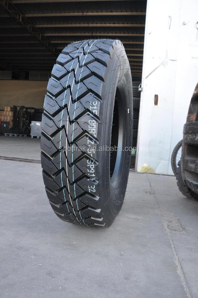 TBR tyre 315/80R22.5 on off road drive tire quality Aeolus Doublecoin Westlake Triangle Linglong Chengshan Doublestar Sailun