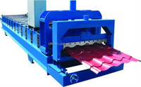 new type of glazed tile roll forming machine for India