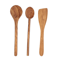 Modern Custom Wooden Ladle Spoon