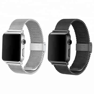 42/38mm milanese 304 stainless steel apple watch strap for replacement