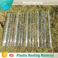 Greenhouse Polycarbonate Corrugated Transparent Roofing Sheet