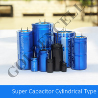 2.7V 1F Cylindrical Super Capacitor for ESR Meter, Car Audio, Car Temperature Meter and etc