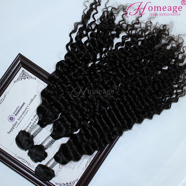 Homeage top quality 100 percent human oprah curl remy hair