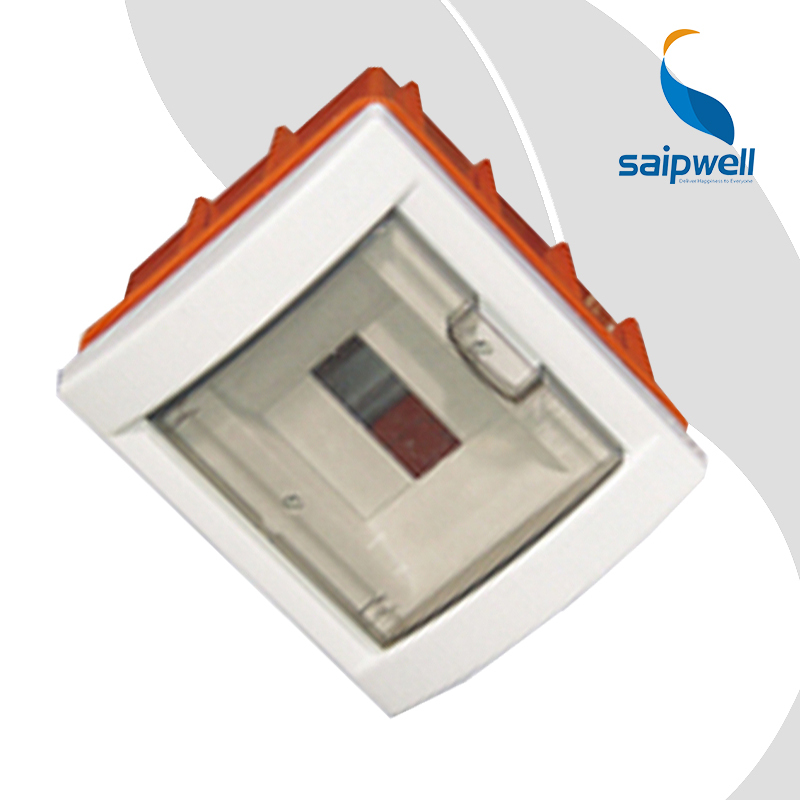 SAIP/SAIPWELL Quick Offer 180*155*90mm 6 Gang Watertight Electrical Flush Mounted Lighting Distribution Box