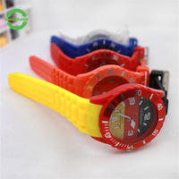 China Manufacturer Digital Silicone Wrist Watch